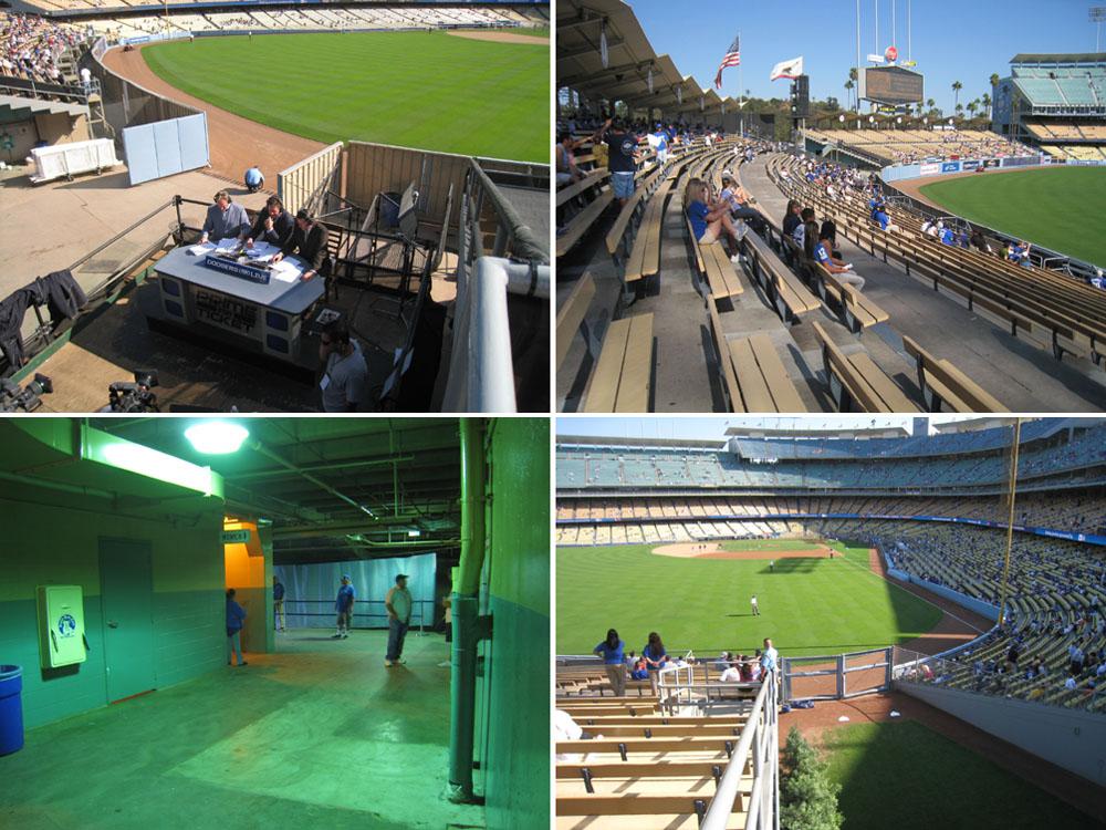 9 1 08 At Dodger Stadium The Baseball Collector