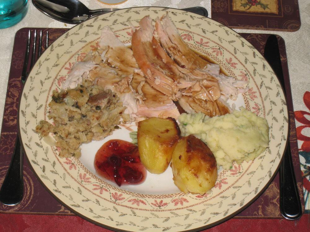 Traditional Irish Christmas Dinner.Christmas The Baseball Collector