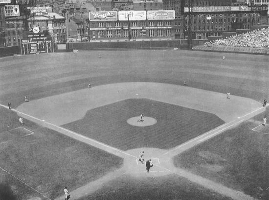 Crosley Field Snagging Analysis The Baseball Collector