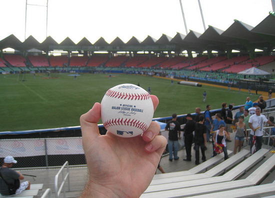 19_first_ball_at_hiram_bithorn.JPG