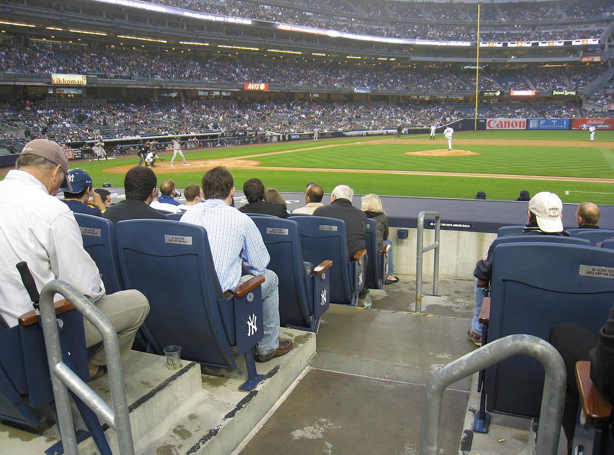 5 23 11 At Yankee Stadium The Baseball Collector