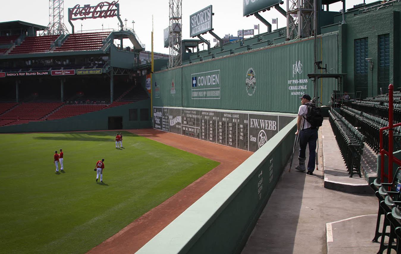 6 21 11 At Fenway Park The Baseball Collector