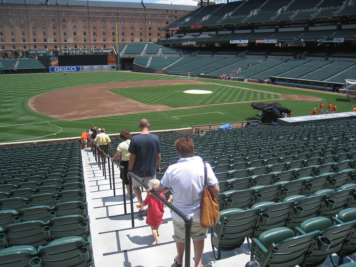 7 15 11 At Camden Yards 171 The Baseball Collector