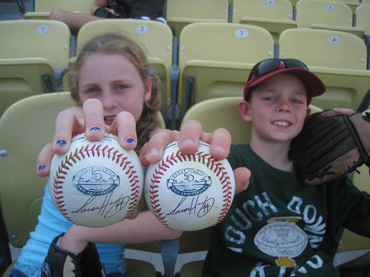 7 17 12 At Dodger Stadium The Baseball Collector
