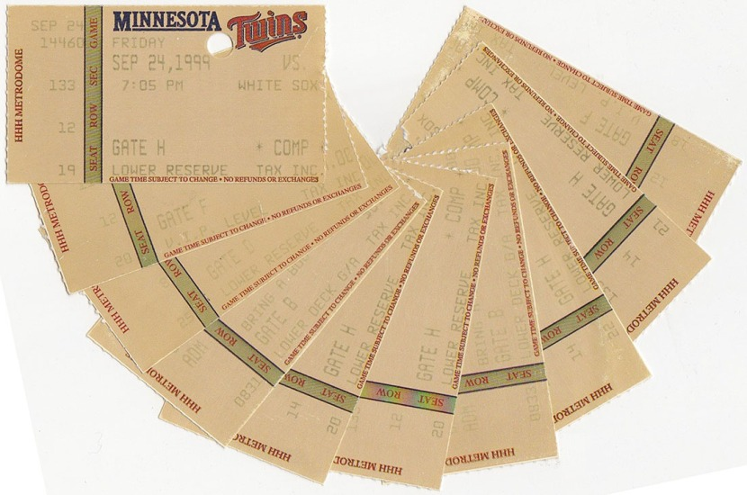16_metrodome_ticket_stubs_09_24_99