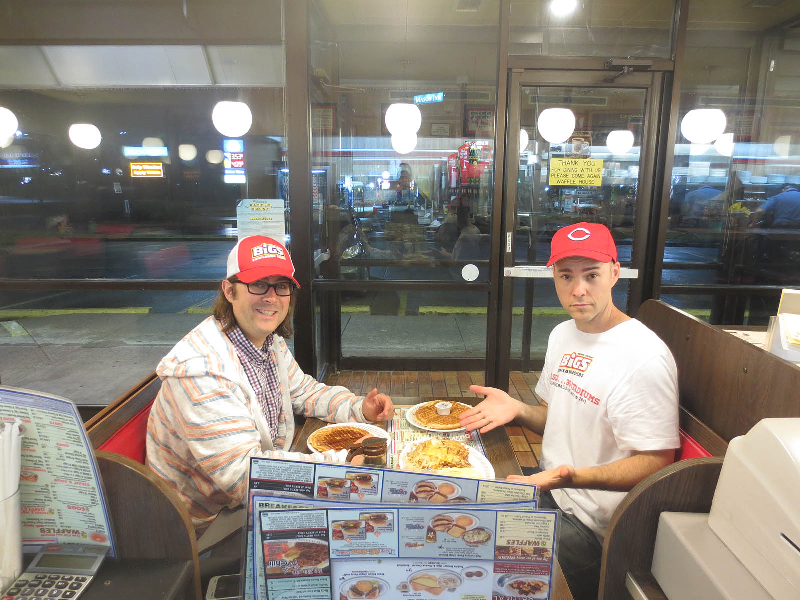 5 6 13 at great american ball park the baseball collector for Waffle house classic jukebox favorites