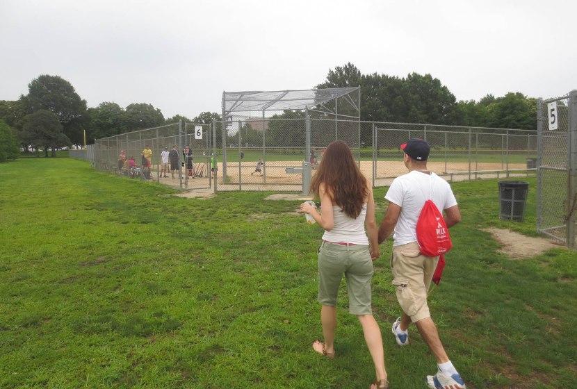 1_ben_and_jen_approaching_softball_field