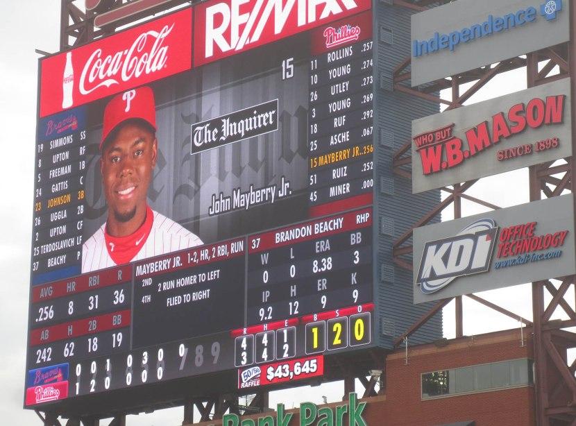 45_mayberry_homer_on_scoreboard