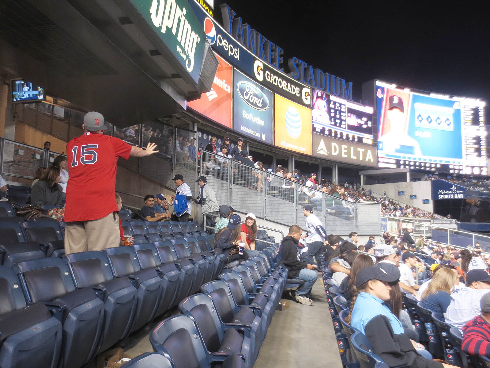 9 6 13 at yankee stadium the baseball collector. Black Bedroom Furniture Sets. Home Design Ideas