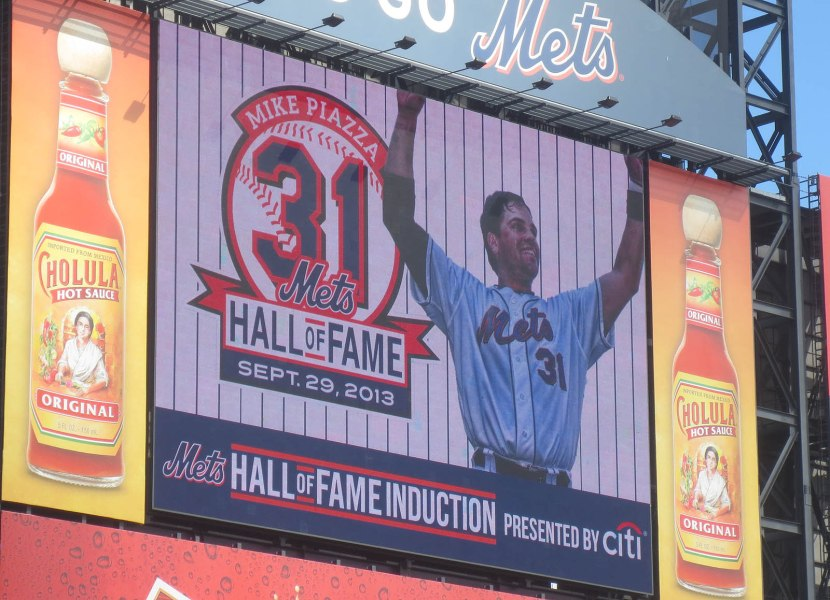 4_mike_piazza_hall_of_fame_induction_logo_on_jumbotron