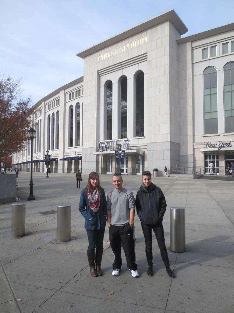 1_natalie_chris_hayley_outside_yankee_stadium