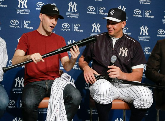 Yankees Rodriguez Baseball
