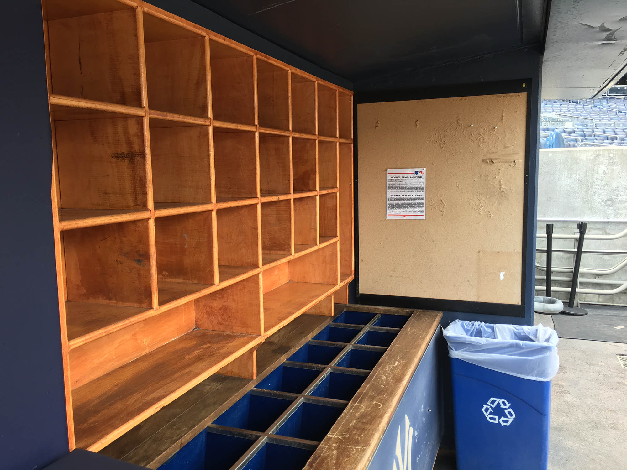 Behind The Scenes At Yankee Stadium The Baseball Collector