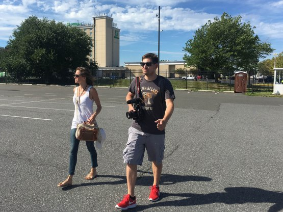 1_caitlin_and_jeff_walking_to_stadium